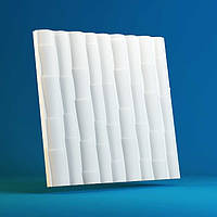 Настенные декоративные 3D/3д панели гипсовые «Бамбук»