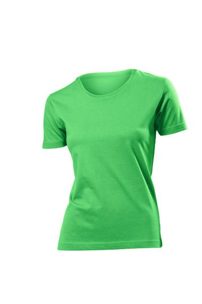 Цветные женские футболки.