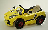 Электромобиль детский Ламборджини C1610 желтый .