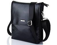 Мужская сумка из глянцевой кожи Luxon