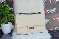 Сумка в стиле  Chanel бежевая., фото 1