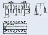 К155ИЕ7 четырехразрядный двоичный реверсивный счетчик, фото 2