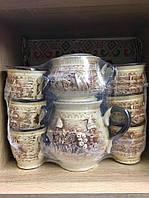 Керамический чайный набор