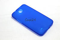 Чехол для HTC Desire 300 синий, фото 1
