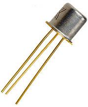 КТ117А транзистор N-база (һ21э:0.5-0.7) 30В Au (ТО18)