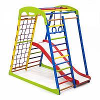 Детский спортивный комплекс для дома SportWood Plus 1, фото 1