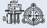 КТ903А транзистор NPN (10А 60В) (h21э: 15-70) 10W, фото 2