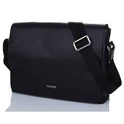 Деловая сумка из перфорированной кожи Luxon 83-8021-3