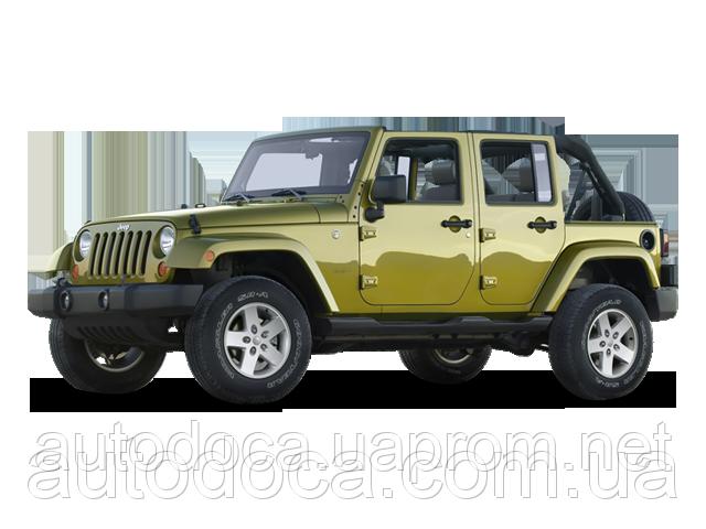 Защита радиатора Jeep Wrangler 2008-