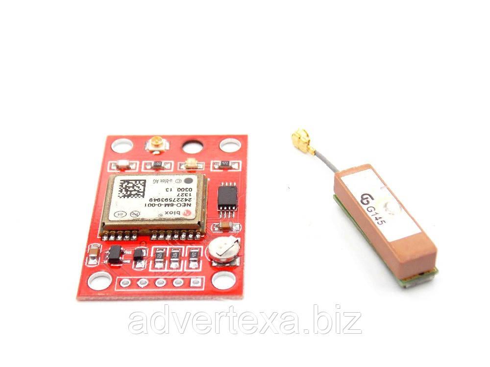 GPS модуль GY-NEO6MV2 NEO6MV2 НЕО-6M с антенной для arduino