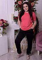 Женские спортивные штаны в больших размерах к-2022397