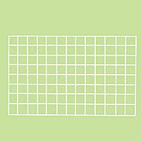 Торговая сетка белая ф 2,5 мм яч 5х5 cм. 60 х 120 cм