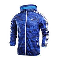 Ветровка мужская фирменная Adidas синяя
