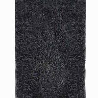 Ковёр Shaggy De Luxe черный 0.60х1.10