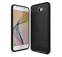 Чехол PRIMO Carbon Fiber Series для Samsung J5 Prime (SM-G570F) - Black