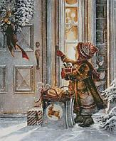 """Схема для вышивания """"Рождественские подарки"""""""