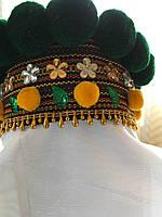 Чільце обруч корона на голову в етно стилі (для дівчинки)