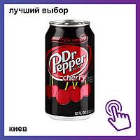 Напиток Dr. Pepper Cherry Доктор Пеппер с вишнёвым вкусом