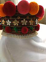 Чільце, обруч, корона на голову в етно стилі (для дівчинки)