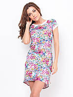 Летнее платье с цветочным принтом 90175