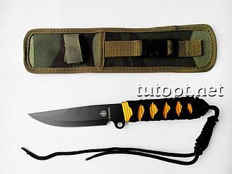 Нож метательный в чехле U64 / черный
