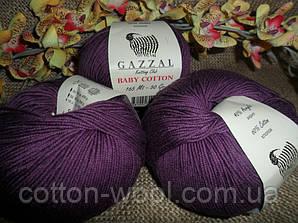 Gazzal Baby Cotton (беби коттон) 3441 фиолетовый