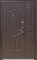 Полуторные входные двери ААА 722 молоток в тамбур
