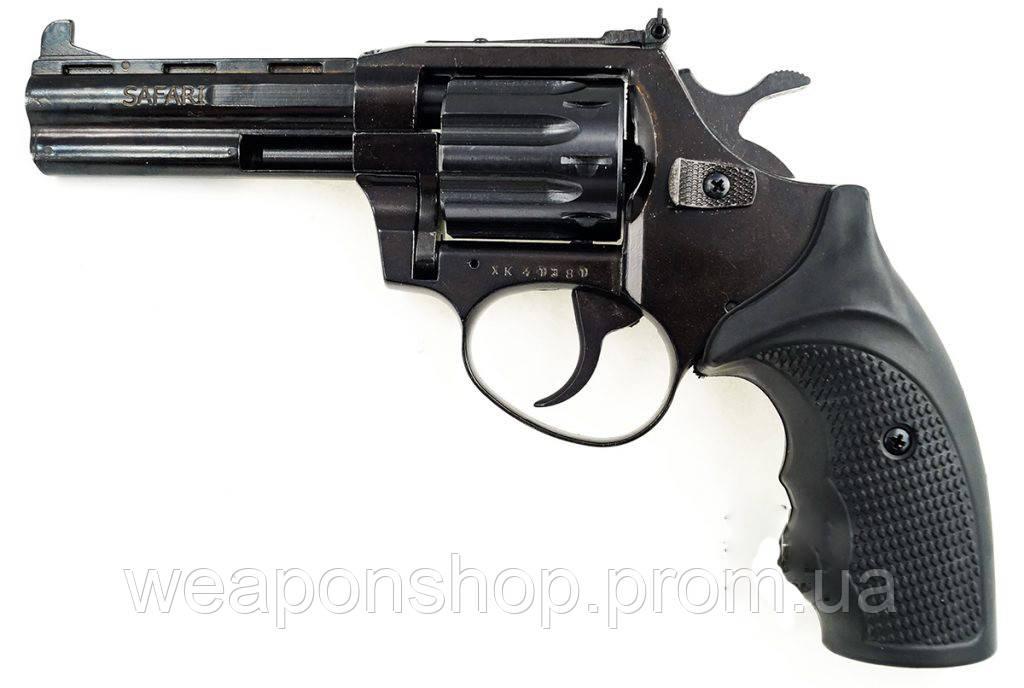 Пистолет под патрон флобера Safari РФ 441 М пластик