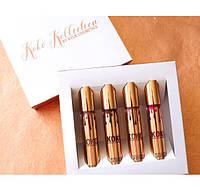 Набор жидких матовых помад и блеск KoKo Kollection Kylie Jenner