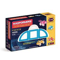 Магнитный конструктор Мой первый голубой автомобиль, 14 элемента, серия Для самых маленьких, Magformers