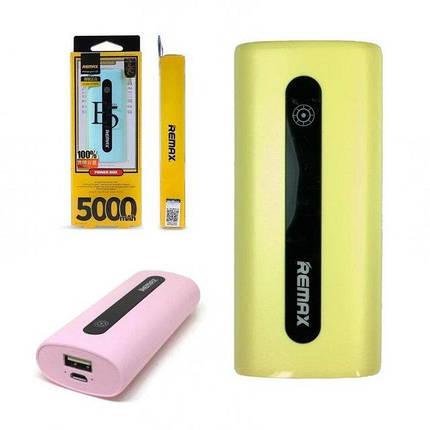 Внешний аккумулятор Power Bank 5000mAh Remax, фото 2