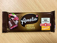 Шоколад черный Amelia (Амелия) с малиновой начинкой Польша 100г