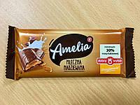Шоколад молочный Amelia (Амелия) с карамельной начинкой Польша 100г