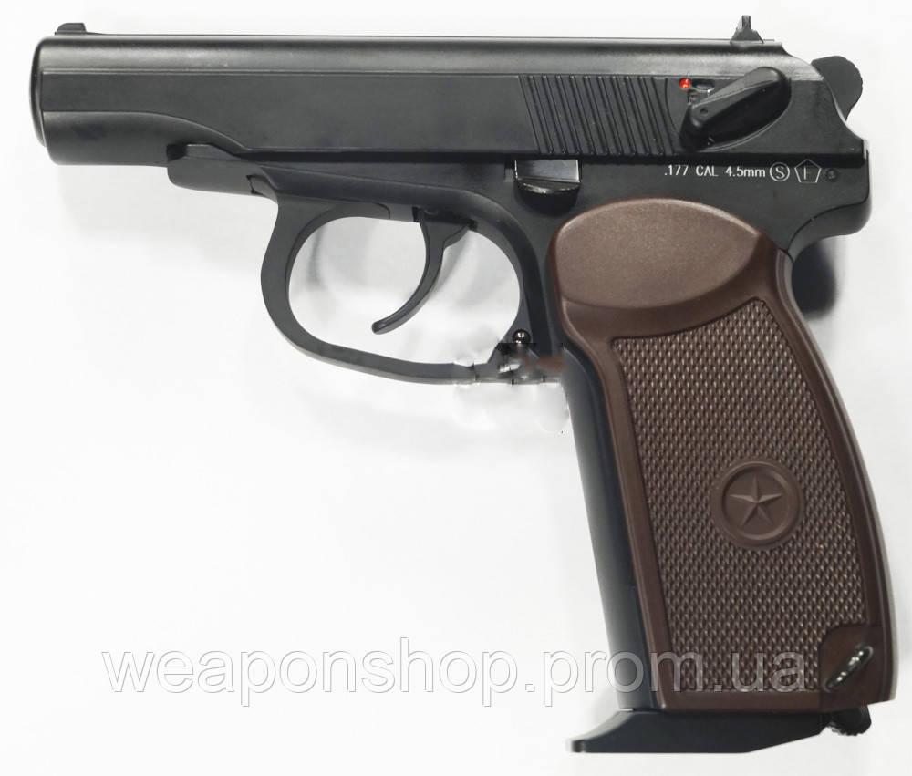 Пистолет KWC Makarov Blowback (KMB44AHN)