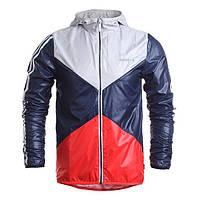 Ветровка мужская фирменная Adidas красно-сине-белая