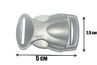 Карабин (Фастекс) пластик 25 мм