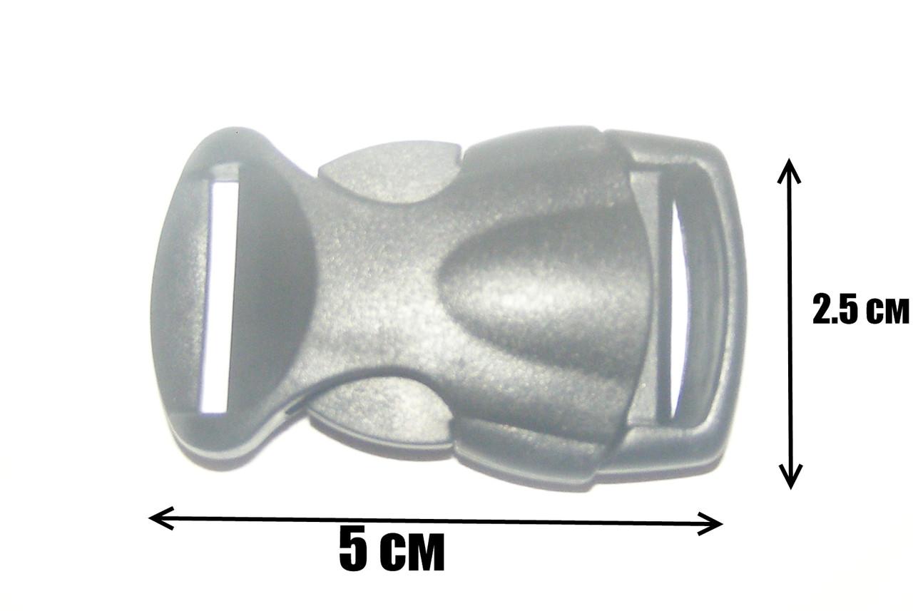 Карабин (Фастекс) пластик 25 мм - интернет-магазин «Валіза». в Конотопе
