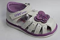 Босоножки детские для девочки белого цвета Большой выбор интернет магазин  http://saxo.com.ua