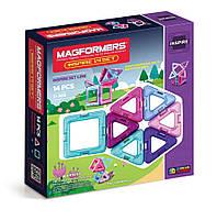 Магнитный конструктор Вдохновение, 14 элемента, серия Для девочек, Magformers