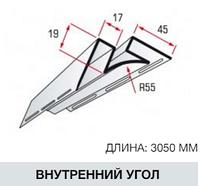 """Внутренний угол коллекция """"FLEX""""  3,05 м жито"""