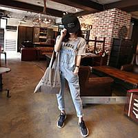 Комбинезон женский джинсовый W71