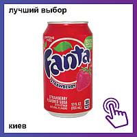 Напиток Fanta Strawberry Фанта Клубника