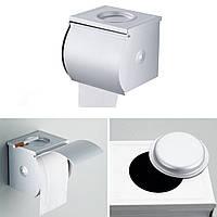 Держатель туалетной бумаги закрытый с пепельницей