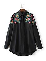 Рубашка женская вышитая NNT 869 Рубашки с вышивкой Zara