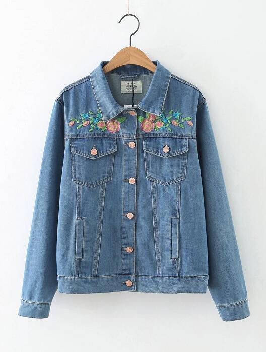 8621e47d Куртка женская джинсовая Куртки джинсовые Zara AA02 - BEREZKA SHOP в Киеве