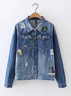 Куртка женская джинсовая Куртки джинсовые Zara AA04