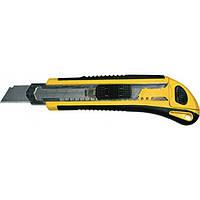 Нож технический 18 мм усиленный,  3 лезвия, Профи