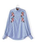 Блузка женская вышитая 404407 Блузки с вышивкой реплика Zara