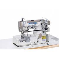 Распошивальная (плоскошовная) машина Shunfa SF 562-05 СВ (для притачивания резинки и обрезки края)