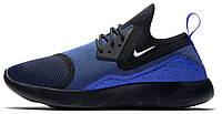 Мужские модные спортивные кроссовки 2017 Nike LunarCharge Paramount Blue Найк синие